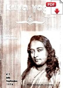 Kriya Yoga Magazine Julio Septiembre 1976