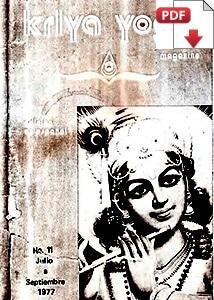 Kriya Yoga Magazine Julio Septiembre 1977