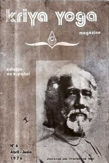 Kriya Yoga Magazine Abril Junio 1976