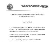 Organización de los Estados Americanos Bogota