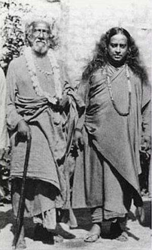 Swami Shriyukteshwar Giri y Paramahamsa Yogananda