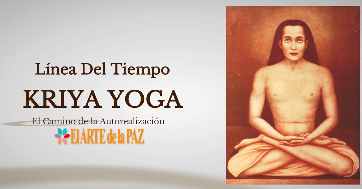 Línea del Tiempo de Kriya Yoga