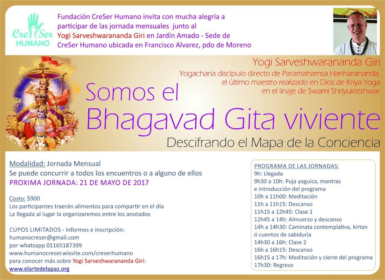 Somos el Bhagavad Gita Viviente