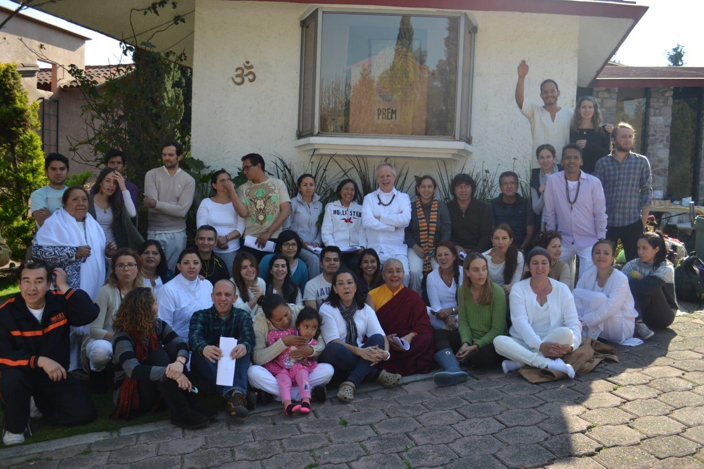 Iniciación de Kriya Yoga en México en enero de 2016