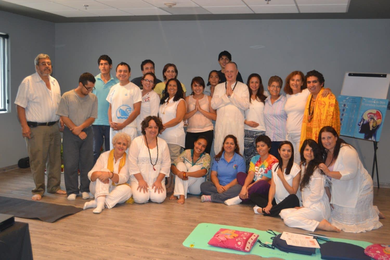Primera iniciación en Kriya Yoga en la Ciudad de Guadalajara México en 2015 por Yogi Sarveshwarananda Giri