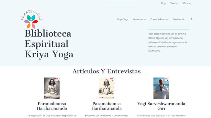 Biblioteca Kriya Yoga