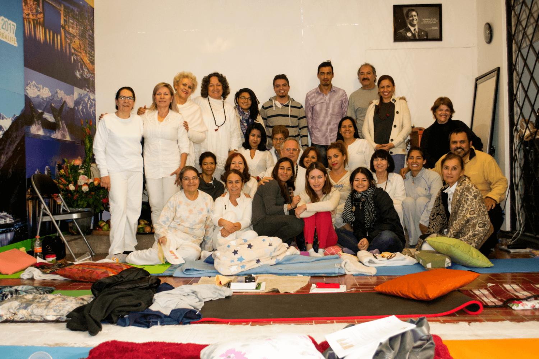 Segunda iniciación Kirya Yoga en Guadalajara México enero 2016